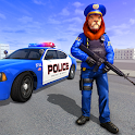 Police Lion Hero Gangster Crime City-Shooting Game icon