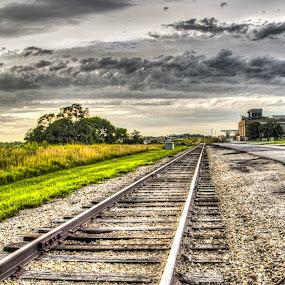 by Jackie Eatinger - Transportation Railway Tracks ( new century,  )