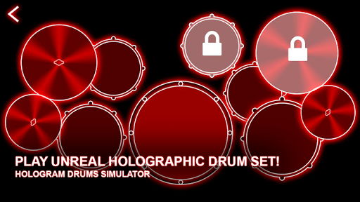 Hologram Drums Simulator