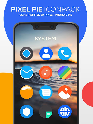 Screenshot for Pixel Pie Icon Pack in United States Play Store