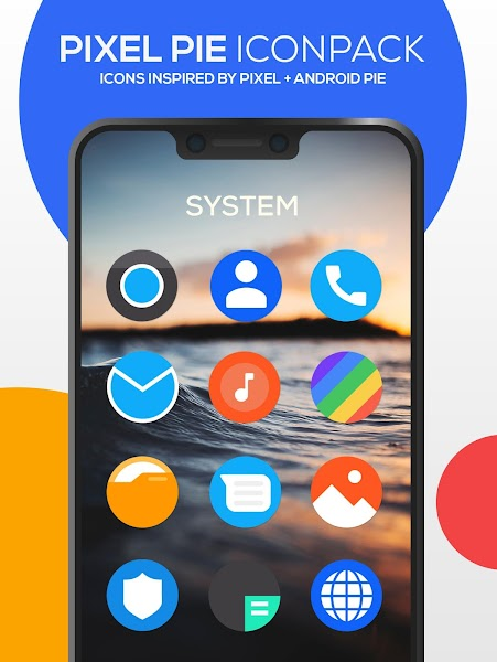 Pixel Pie Icon Pack Screenshot Image