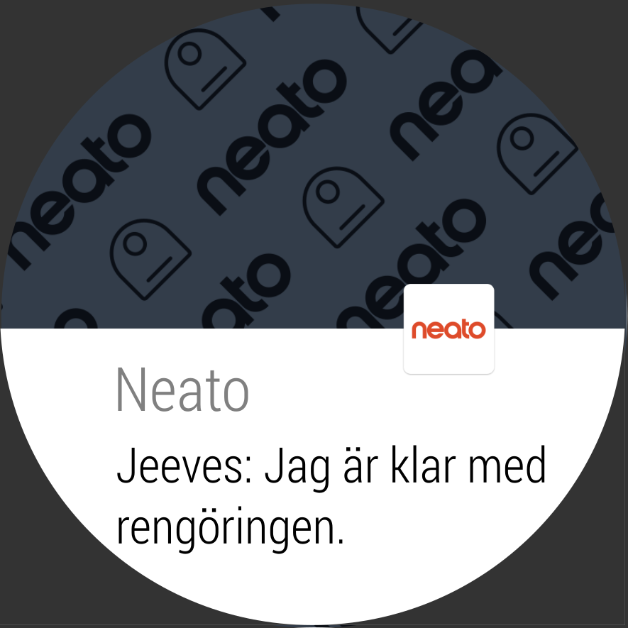 Neato Robotics– skärmdump