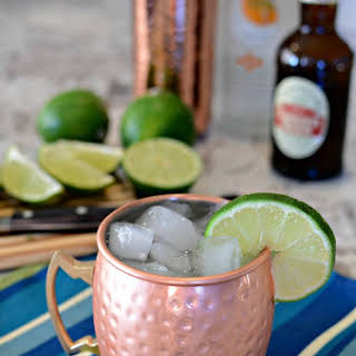 A Delicious Orange Moscow Mule.