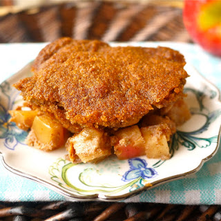 Ginger Cookie Apple Cobbler (Paleo, GF) (coconut flour only!)