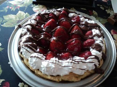 "Strawberry Chocolate Éclair Fantasy ""This dessert was a big hit last night with..."