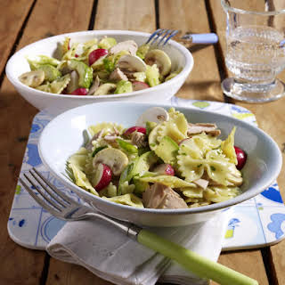 Pasta Salad with Tuna and Vegetables.