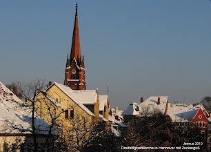 Photo: Dreifaltigkeitskirche in Hannover mit Zuckerguß