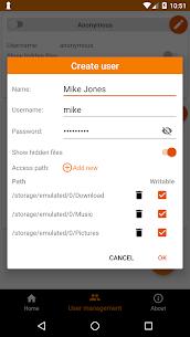 FTP Server – Multiple FTP users MOD (Unlocked) 4