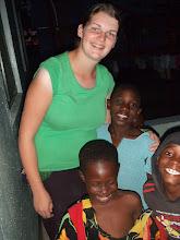 Photo: Karen with children