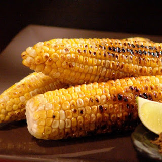 Grilled Corn with Five Spice and Lime
