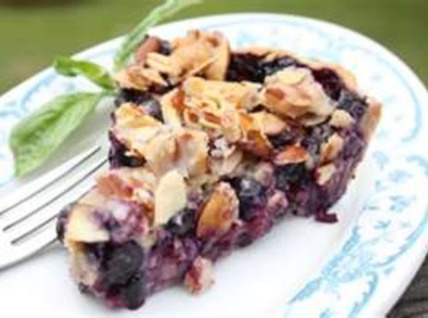 Blueberry Pie With Goat Cheese & Basil Recipe