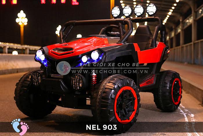 Xe ô tô điện địa hình NEL-903 4 động cơ 4