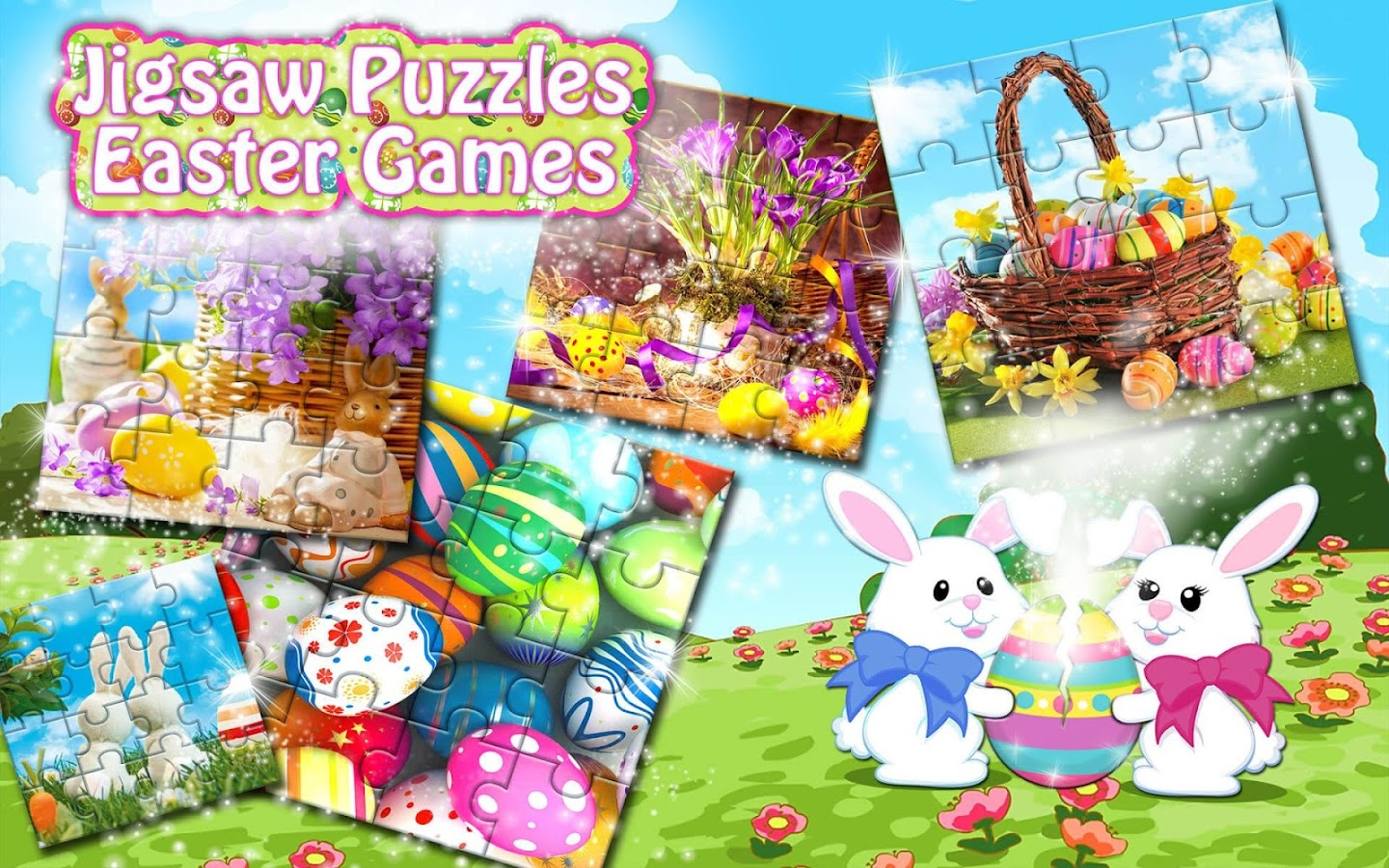 Jigsaw Puzzles 🐇 Easter Games- screenshot