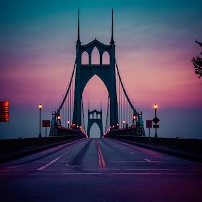 Purple Haze by Ivan Johnson - Buildings & Architecture Bridges & Suspended Structures (  )