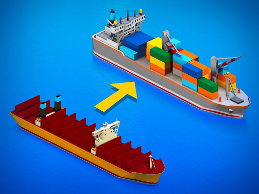 Idle Ship Tycoon: Port Manager Simulator apkdebit screenshots 8