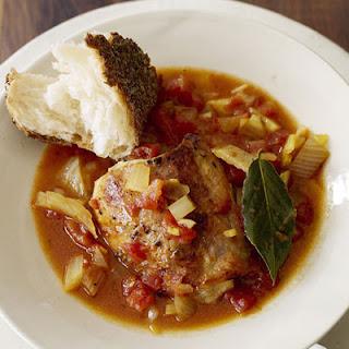 Chicken, Bouillabaisse-Style
