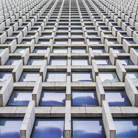 Pattern by Andrew Savasuk - Abstract Patterns ( building, pattern, atlanta, shapes geometric patterns  )