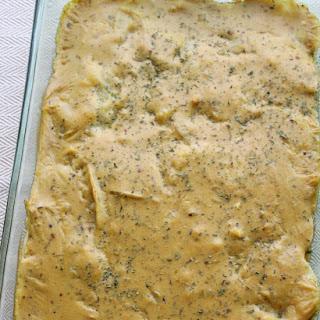 Autumn Herbed Vegan Potatoes Au Gratin.