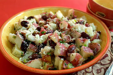 Middle Eastern Style Potato Salad Recipe