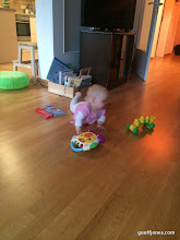 Photo: Crawling around