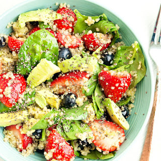 Quinoa Power Salad.