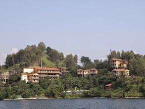 Photo: Fancy hotels on Lake Kivu...
