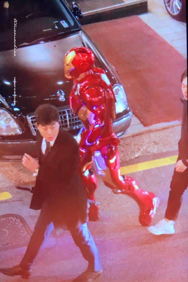 chanyeol iron man costume 2