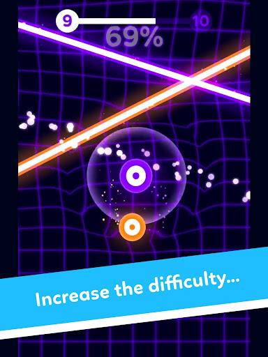 Screenshot for Balls VS Lasers: A Reflex Game in Hong Kong Play Store