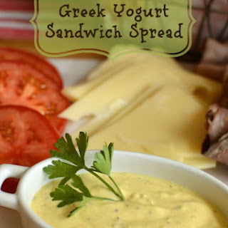 Greek Yogurt Sandwich Spread