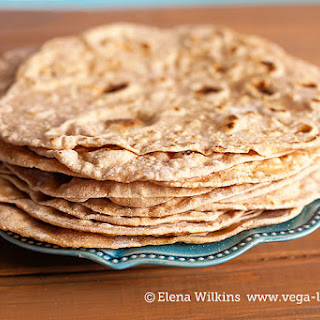 Homemade Low Fat Whole Wheat Tortilla