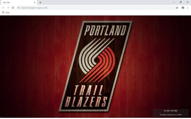 Portland Trail Blazers New Tab