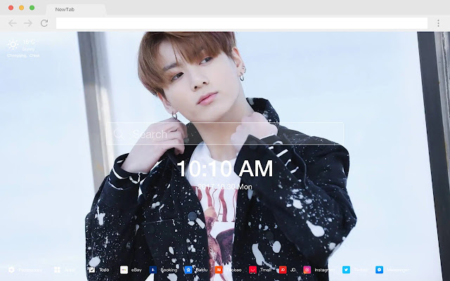 Jungkook HD Wallpapers Artists New Tab