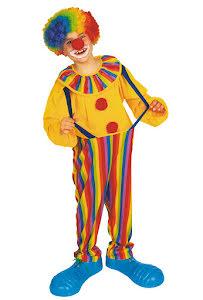 Clowndräkt, barn M/L