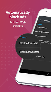 Firefox Klar: The privacy browser- screenshot thumbnail
