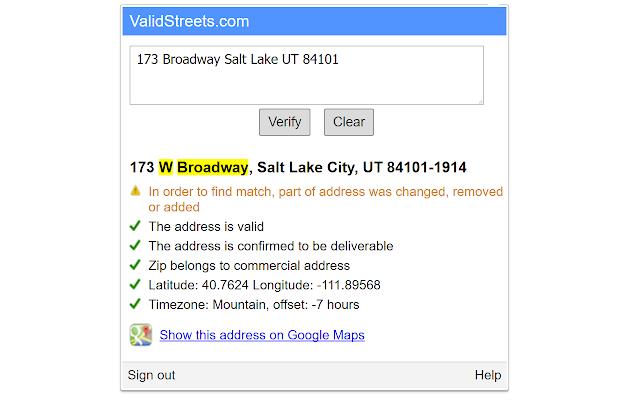 US Address Validation on google building inside, google address form, google tracking, google local, google marketing,