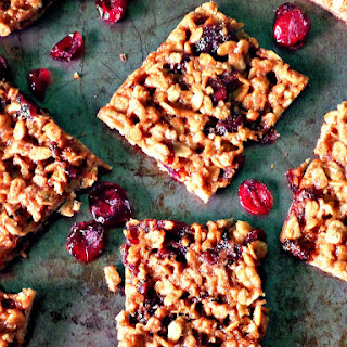 Oatmeal Cranberry Bars Recipe