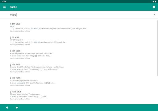 Lawdroid – Deutsche Gesetze und EU-Recht screenshot 12