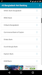Net Banking App for Bangladesh - náhled