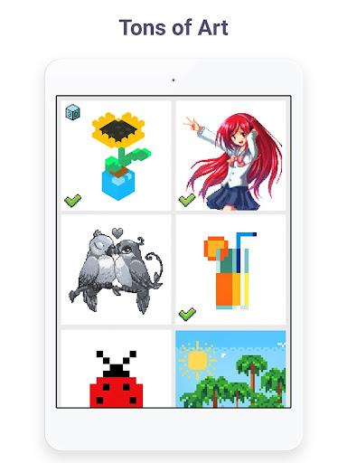 Pixel Art: Build by Number Game screenshot 13