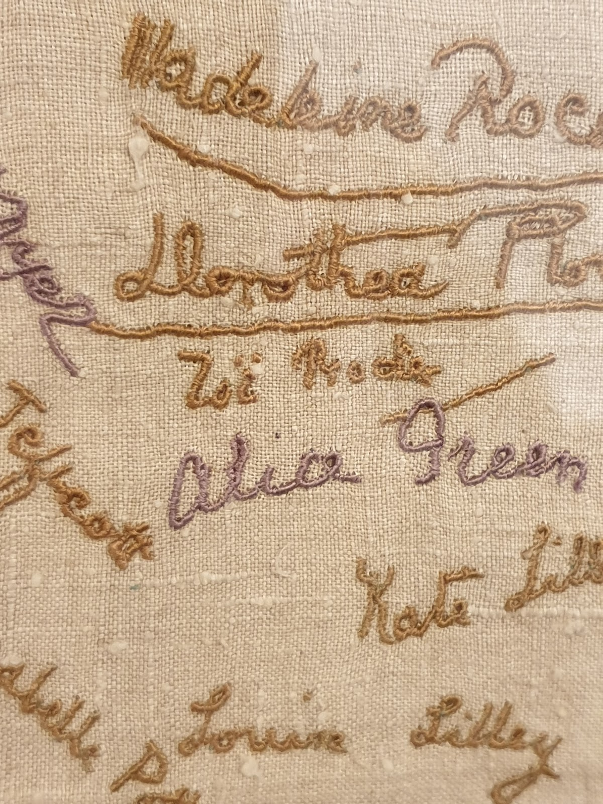Motive/Motif: Artist Commemorate the Suffragettes London Embroidery School