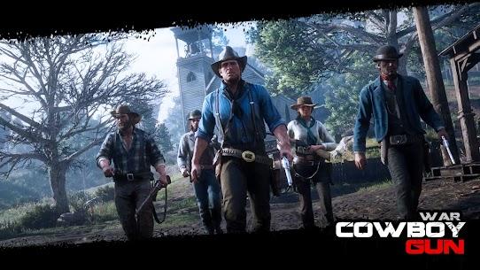 Cowboy Gun War MOD (Unlimited Money) 2