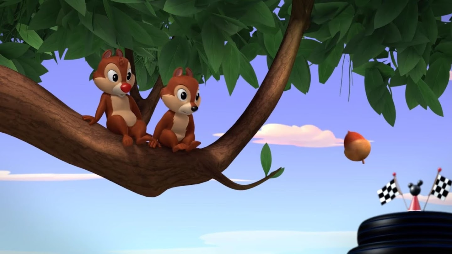 Watch Chip 'N Dale's Nutty Tales live