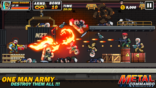 Metal Mercenary - 2D Platform Action Shooter 54 screenshots 1