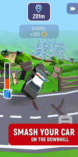 Crash Delivery! Destruction & smashing flying car! 0.9.9 screenshots 2