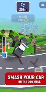 Crash Delivery! Destruction & smashing flying car! 2