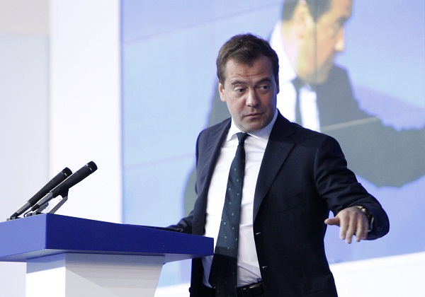 Russian Prime Minister Dmitry Medvedev. Picture: REUTERS