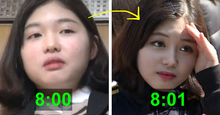 This Korean Teen Has A Simple Hack For Finishing Her Makeup Routine In 60 Seconds