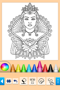 Mandala Coloring Pages 10