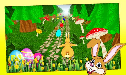 復活節兔子運行