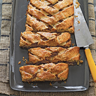 Maple Pear Slab Pie
